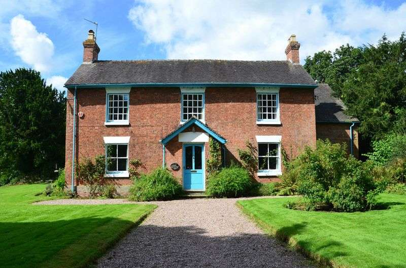 5 Bedrooms Detached House for sale in Walk Mill House, Walk Mill, Eccleshall, Staffordshire. ST21 6ER