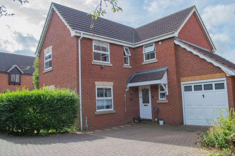 4 Bedrooms Detached House for sale in Farthinghoe Close, Brackley