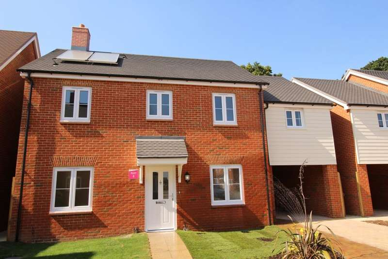 4 Bedrooms Detached House for sale in Woodchurch Road, Shadoxhurst, Ashford, TN26