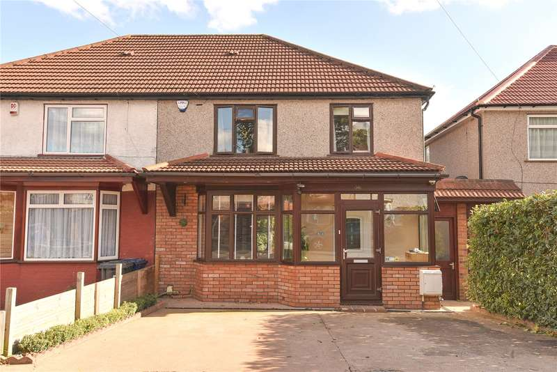 3 Bedrooms Semi Detached House for sale in Halsbury Road West, Northolt, Middlesex, UB5