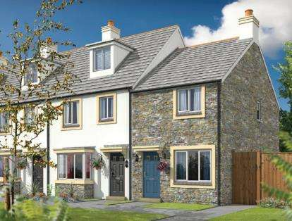 2 Bedrooms End Of Terrace House for sale in Dunmere Road, Bodmin