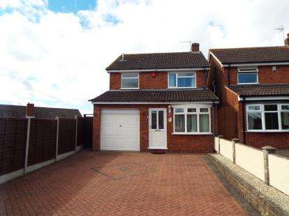 3 Bedrooms Detached House for sale in Deer Close, Norton Canes, Cannock, Staffordshire