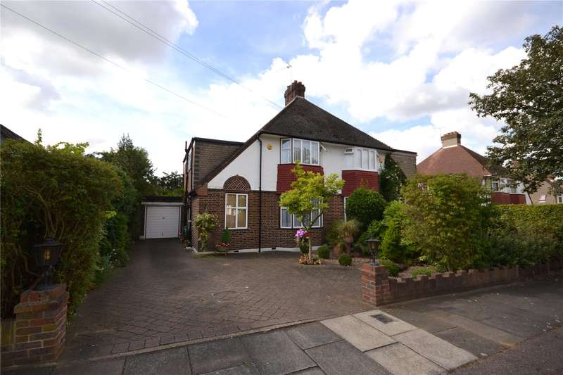 3 Bedrooms Semi Detached House for sale in Westfield Road, Mill Hill, London, NW7