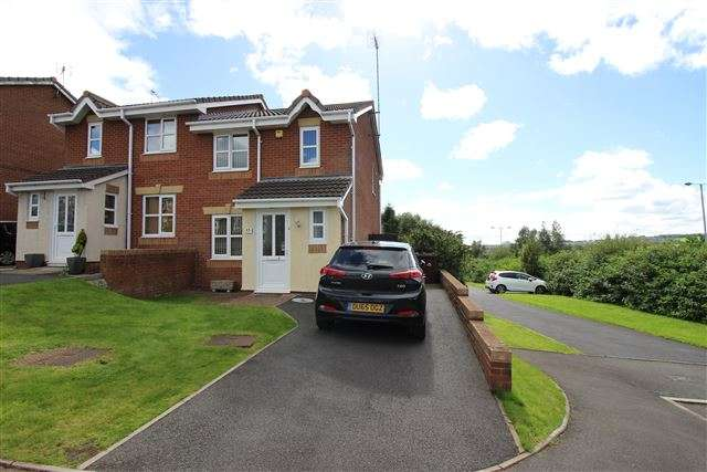 3 Bedrooms Semi Detached House for sale in Beaufighter Grove, Tunstall, Stoke on Trent, ST6 5XS
