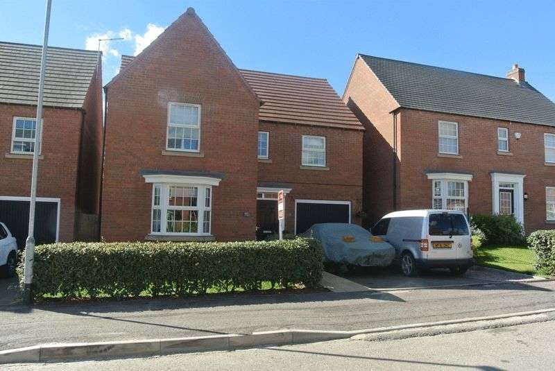 4 Bedrooms Detached House for sale in Sanderling Way, Mansfield