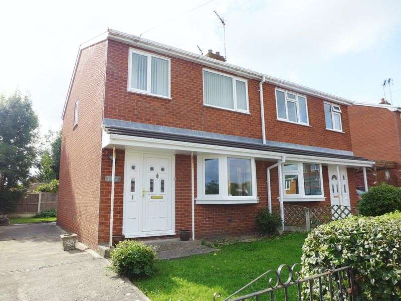 3 Bedrooms Semi Detached House for sale in Cae Glas, Wrexham