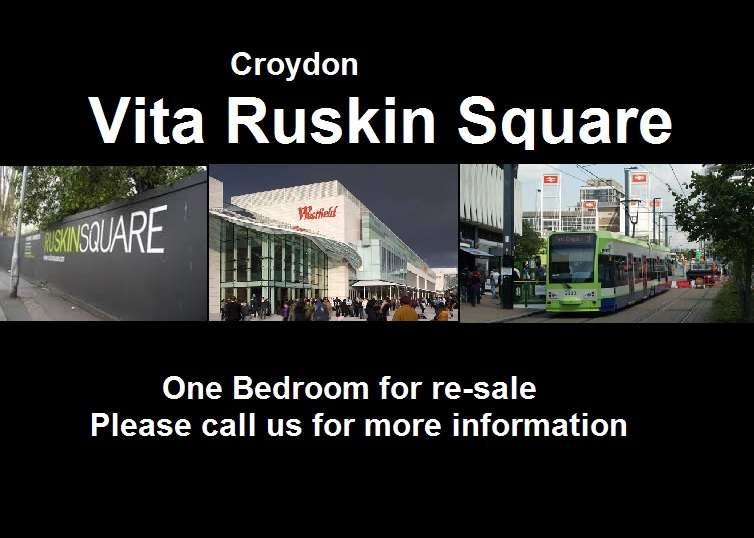 2 Bedrooms Flat for sale in Ruskin Square, Vita, Croydon