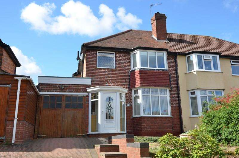 3 Bedrooms Semi Detached House for sale in Midhurst Road, Kings Norton, Birmingham