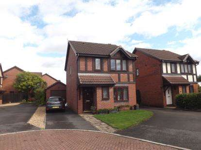 3 Bedrooms Detached House for sale in Tenbury Close, Great Sankey, Warrington, Cheshire, WA5