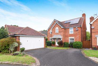 4 Bedrooms Detached House for sale in Brecon Avenue, Worcester, Worcestershire, Uk