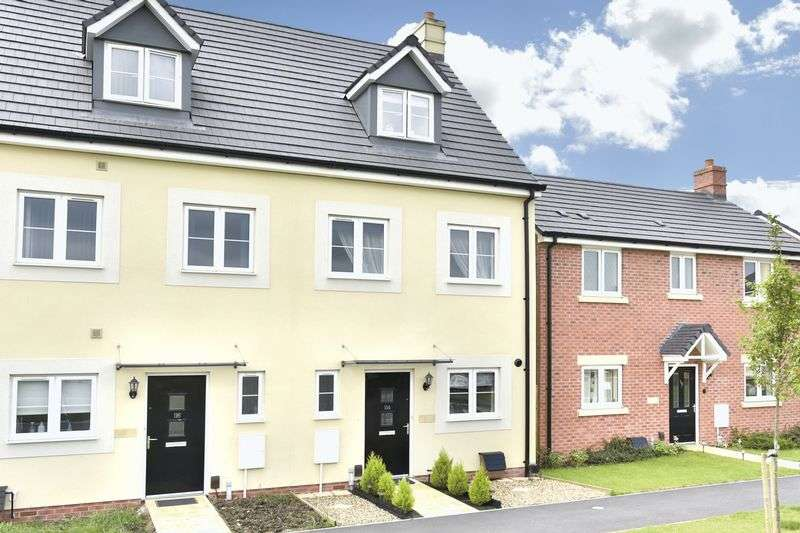 3 Bedrooms Terraced House for sale in Soprano Way, Trowbridge