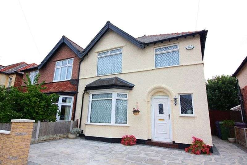 3 Bedrooms Semi Detached House for sale in Ribbledale Road, Mossley Hill, Liverpool, L18