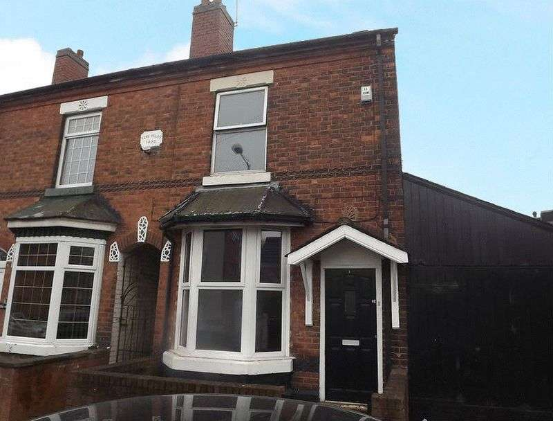 3 Bedrooms Terraced House for sale in Bull Street, Wednesbury