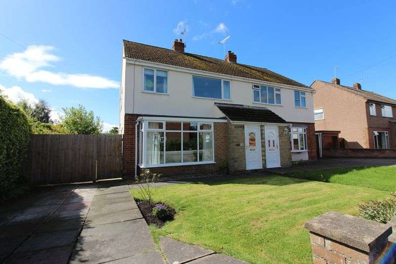 3 Bedrooms Semi Detached House for sale in Becketts Lane, Great Boughton, Chester