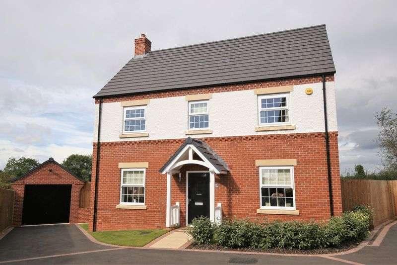 4 Bedrooms Detached House for sale in Phillip Bent Road, Ashby-De-La-Zouch, Leics LE65 2AN