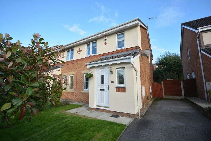 3 Bedrooms Semi Detached House for sale in Spring Meadows, Clayton-Le-Moors