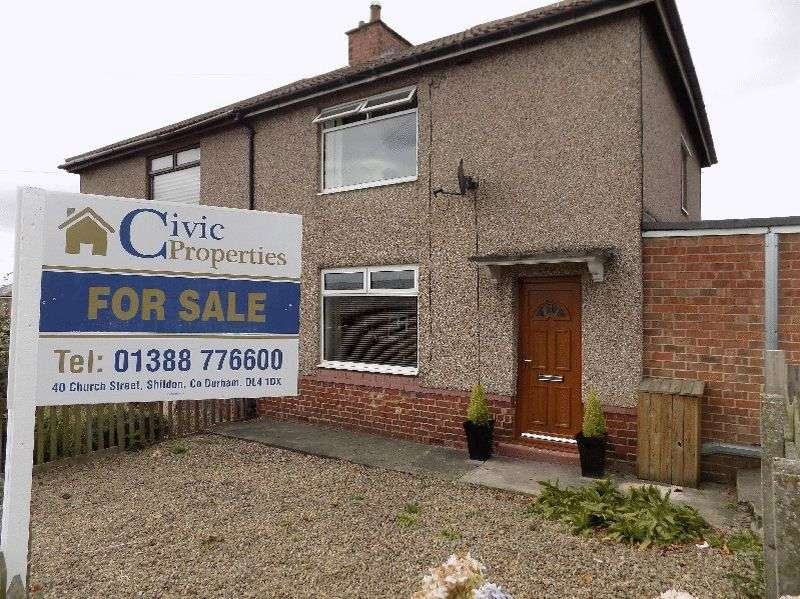 3 Bedrooms Semi Detached House for sale in Dean Gardens, Shildon