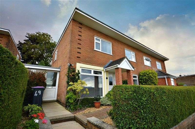 4 Bedrooms Semi Detached House for sale in Crown Rise, Cwmbran