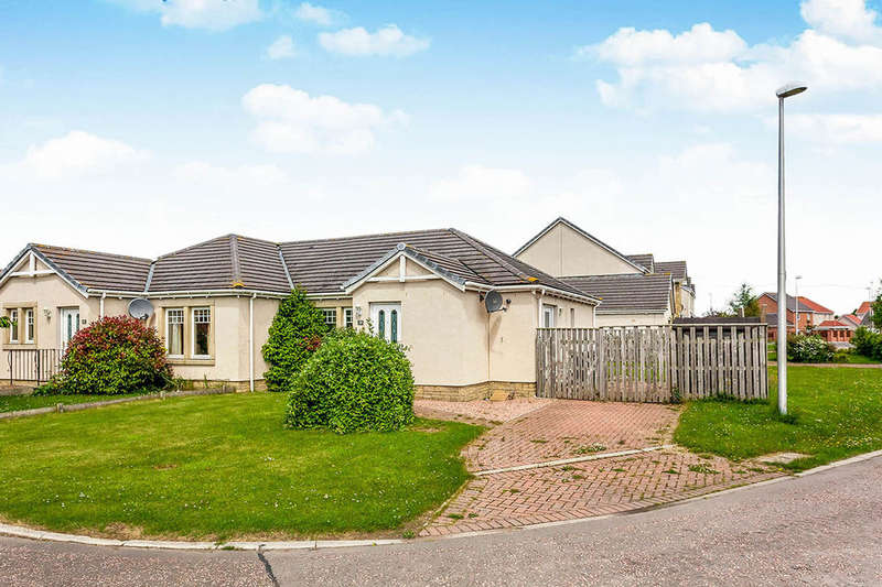 2 Bedrooms Semi Detached Bungalow for sale in Heron Bank, Montrose, DD10