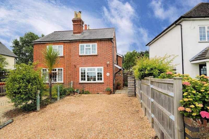 2 Bedrooms Semi Detached House for sale in Sunnyside, Basingstoke Road, Riseley, Reading, RG7