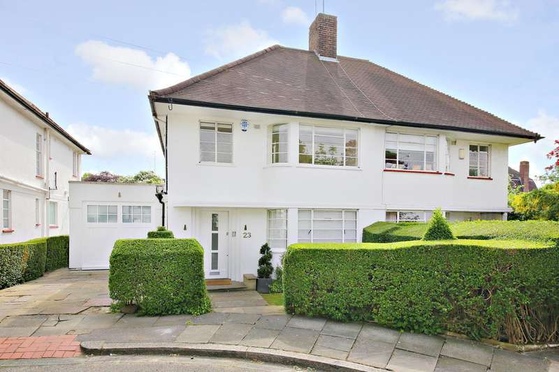 4 Bedrooms House for sale in Hutchings Walk, Hampstead Garden Suburb