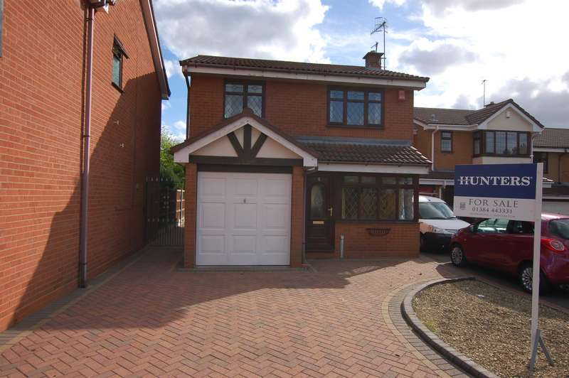 3 Bedrooms Detached House for sale in Stonefield Drive, Brierley Hill, West Midlands, DY5 4PT