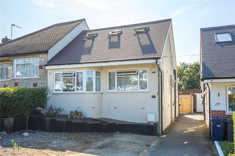 4 Bedrooms Semi Detached Bungalow for sale in Bittacy Rise, Mill Hill, London, NW7
