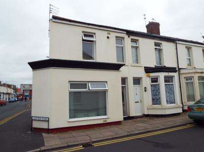 2 Bedrooms End Of Terrace House for sale in Sutton Place, Blackpool, Lancashire, FY1