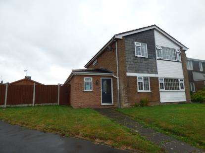 4 Bedrooms Semi Detached House for sale in Eden Road, Oadby, Leicester, Leicestershire