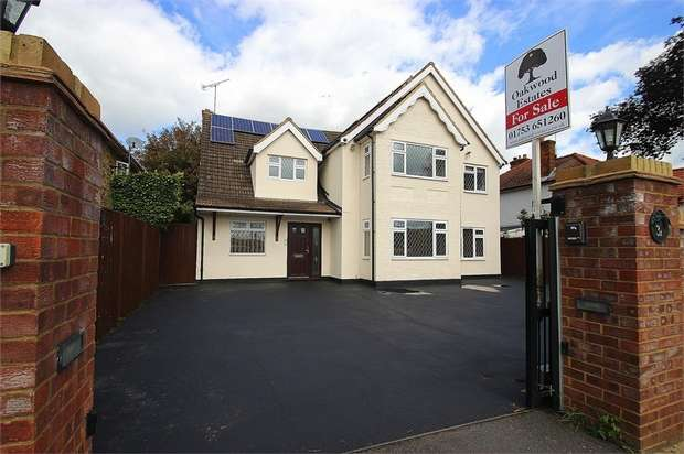 5 Bedrooms Detached House for sale in The Poynings, Richings Park, Buckinghamshire