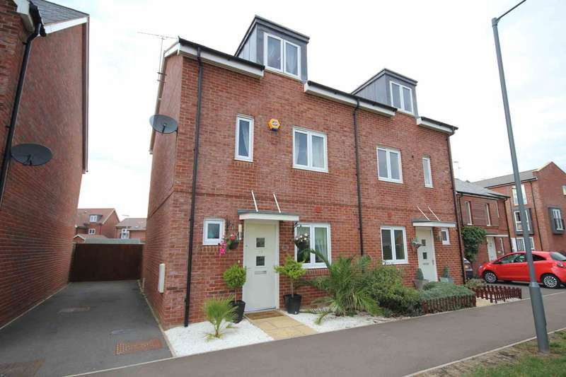 3 Bedrooms Semi Detached House for sale in Pippin Road, Berryfields