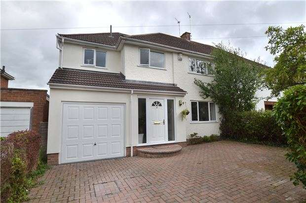 4 Bedrooms Semi Detached House for sale in Bournside Road, CHELTENHAM, Gloucestershire, GL51 3AL