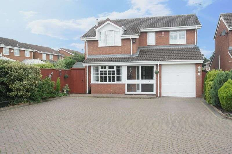 4 Bedrooms Detached House for sale in Sunningdale Way, Walsall