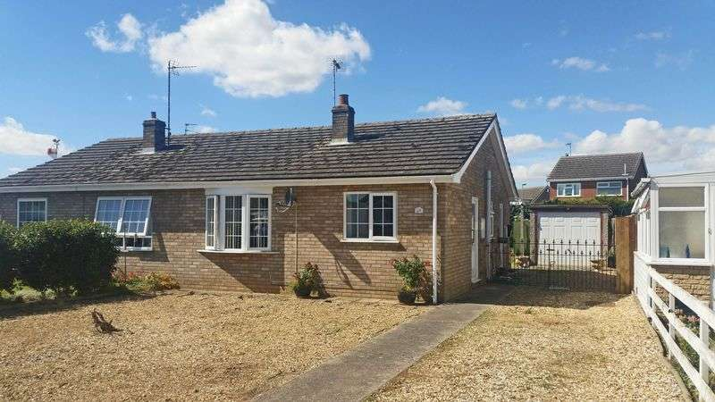 2 Bedrooms Semi Detached Bungalow for sale in Maple Way, Donington