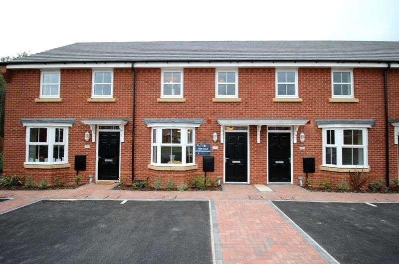 3 Bedrooms Terraced House for sale in Baggeridge Village, Gospel End Road, Dudley