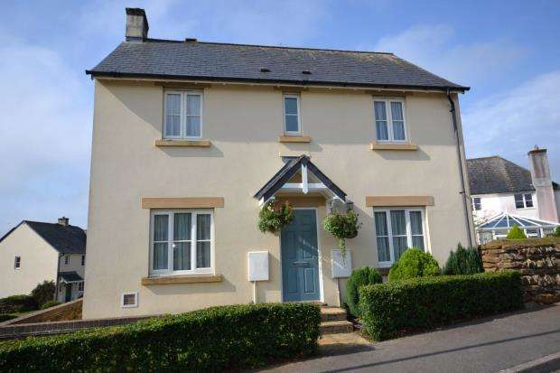 3 Bedrooms Link Detached House for sale in Werrington Drive, Callington, Cornwall