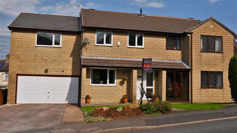 4 Bedrooms Semi Detached House for sale in Hillside Close, Brierfield
