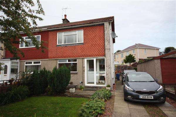 2 Bedrooms Semi-detached Villa House for sale in Broompark Drive, Renfrew