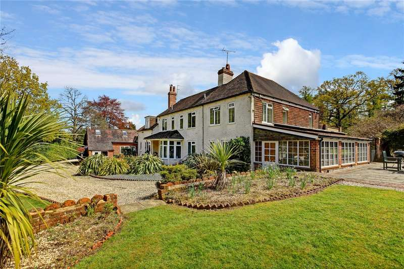 5 Bedrooms Detached House for sale in Chapel Row, Bucklebury Common, Reading, Berkshire, RG7