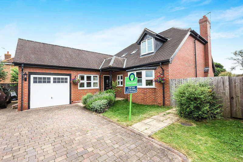 4 Bedrooms Detached House for sale in Coley Close, Fernhill Heath, Worcester, WR3