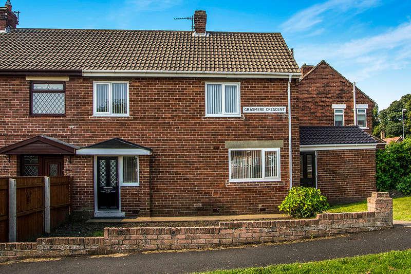 3 Bedrooms Semi Detached House for sale in Grasmere Crescent, Winlaton, Blaydon-On-Tyne, NE21