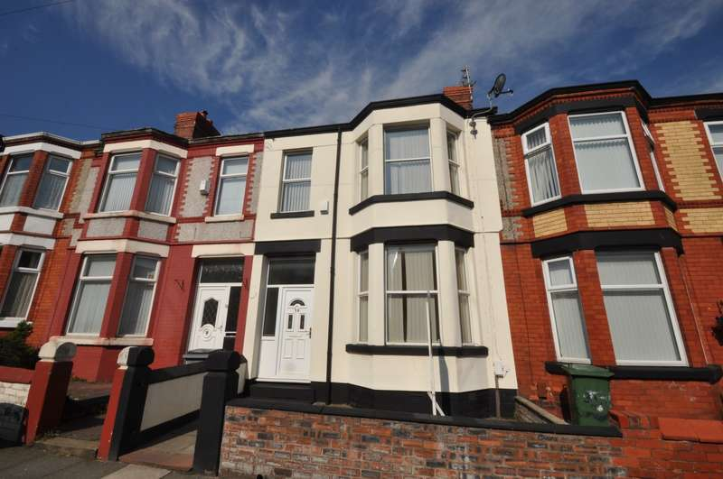 3 Bedrooms House for sale in Claughton Drive, Wallasey
