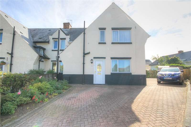 3 Bedrooms Semi Detached House for sale in Chartwell Place, Consett, County Durham, DH8