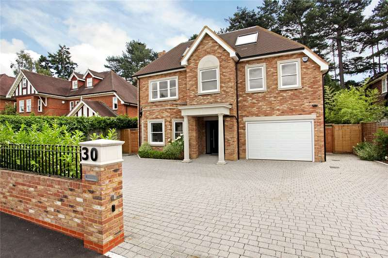 5 Bedrooms Detached House for sale in Mayfield Road, Weybridge, Surrey, KT13