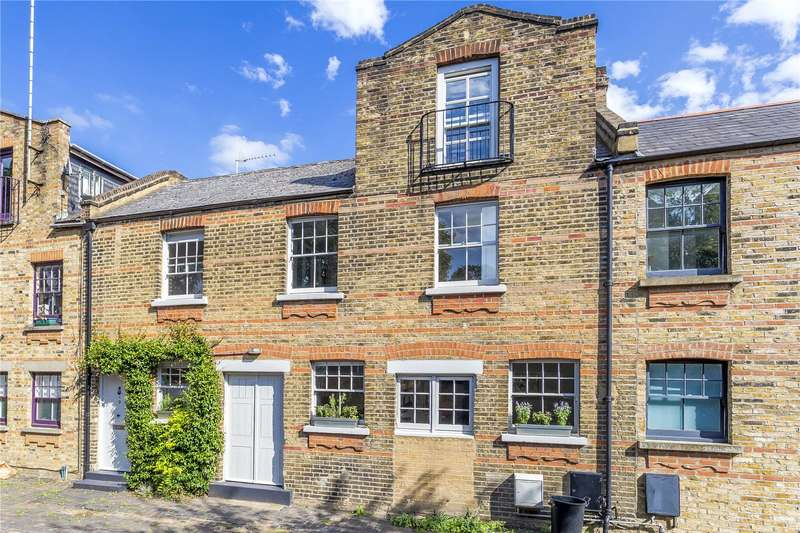 3 Bedrooms Mews House for sale in Rosa Alba Mews, London, N5