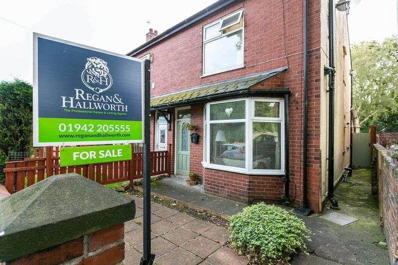 3 Bedrooms Semi Detached House for sale in Billinge Road, Pemberton, WN5 9JH