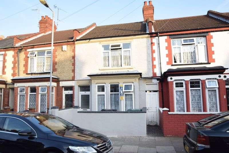 3 Bedrooms Terraced House for sale in Chatsworth Road, Luton