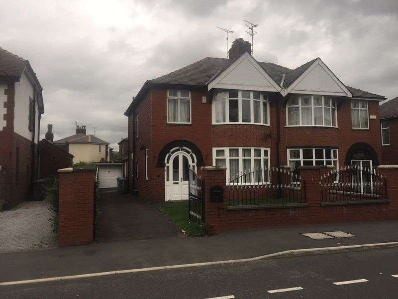 3 Bedrooms Semi Detached House for rent in Edenfield Road, Passmonds, Rochdale