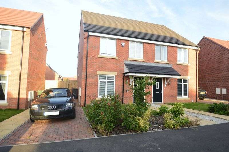 3 Bedrooms Semi Detached House for sale in Highfield Avenue, Langwith Junction