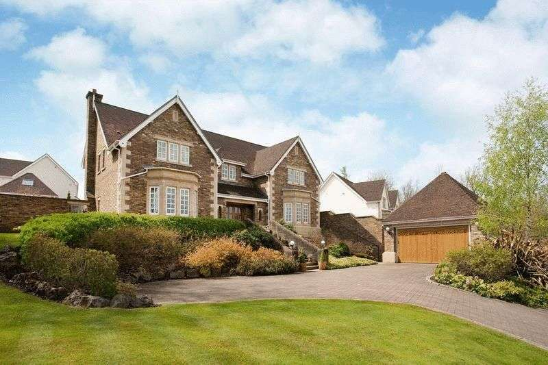 6 Bedrooms Detached House for sale in Cefn Mably Park, Cardiff